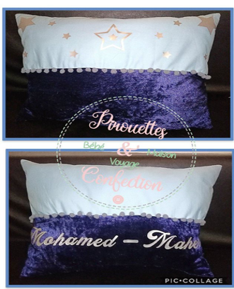 Coussin grand format